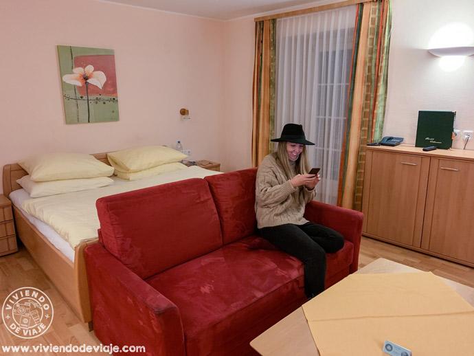 Nuestra habitación en Hallstatt