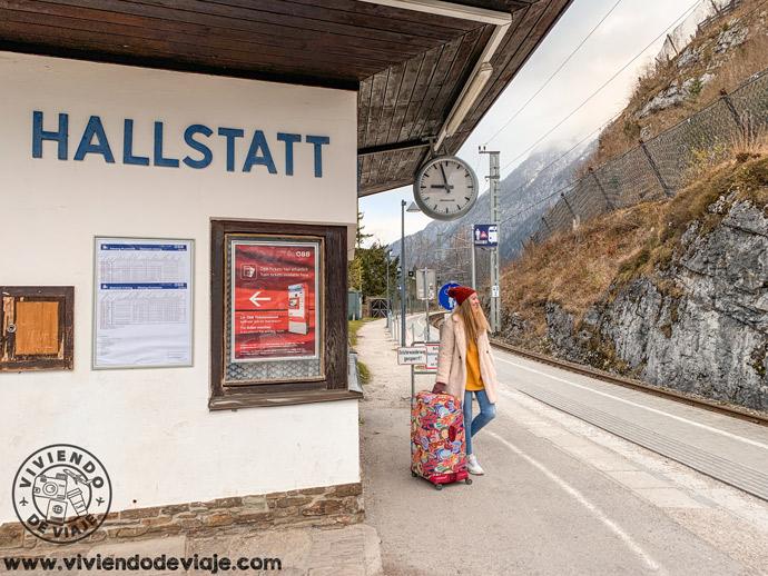 Estación de tren de Hallstatt