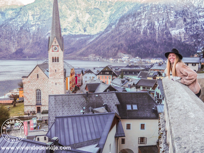Vistas desde la iglesia de Pfarrkirche Mariä Himmelfahrt en Hallstatt
