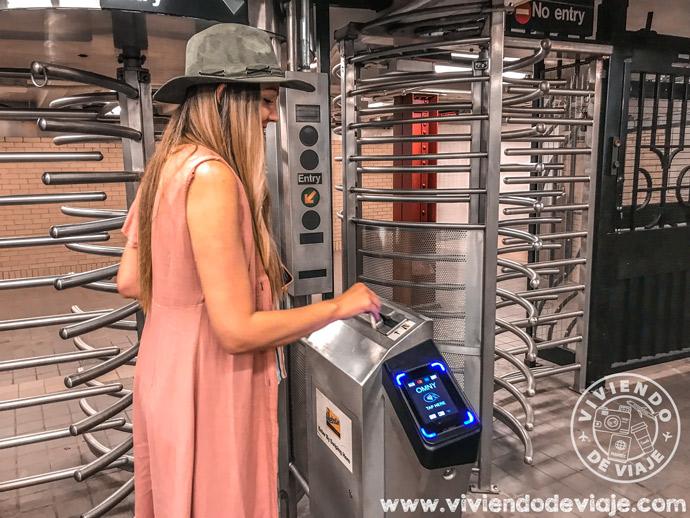 Cómo moverse por Nueva York   Metro