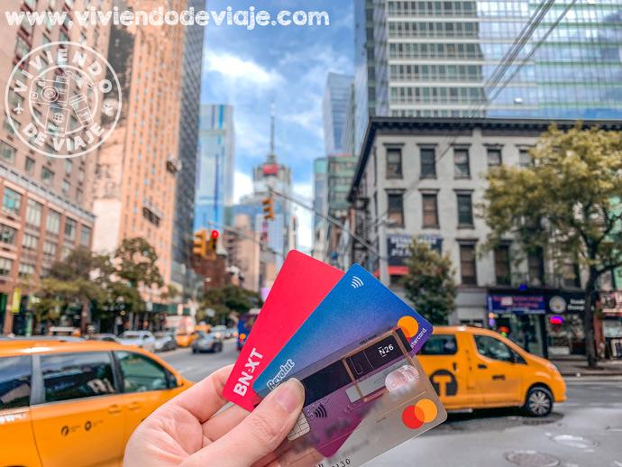 Opinión N26, tarjetas para viajar