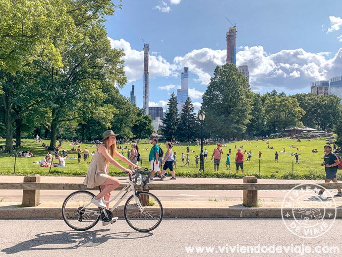 Moverse en bicicleta por Nueva York