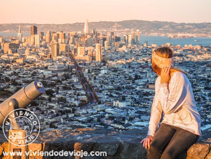 San Francisco en 3 días | Mirador de Twin Peaks
