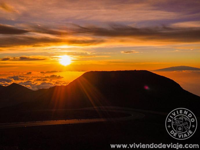Amanecer en el volcán Haleakala, Maui
