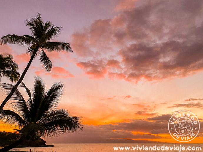 Atardecer en Maui