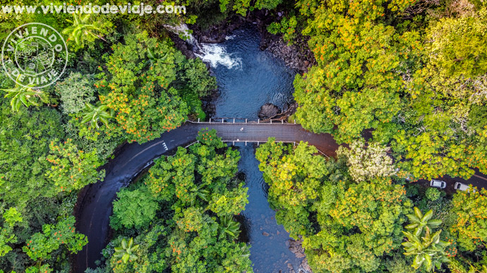 Carreteras cercanas a Hilo, Big Island