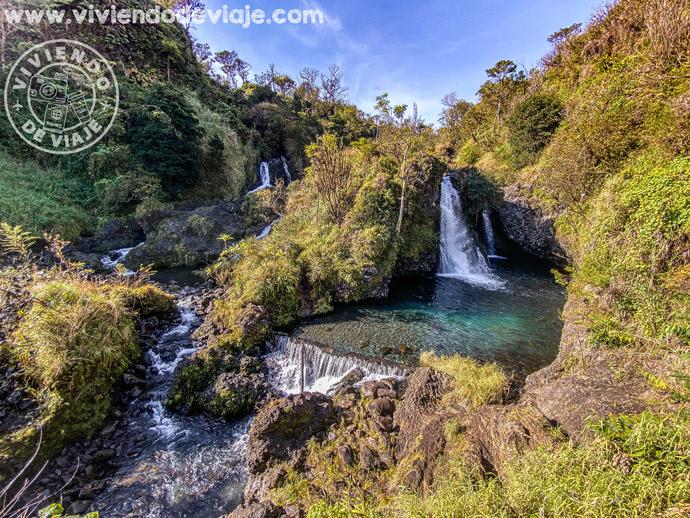Cascadas en la carretera de Hana, Maui