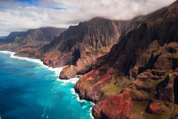 Costa de Nā Pali, Kauai