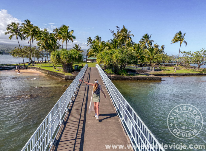 Isla de Moku Ola, también conocida como isla Coconut