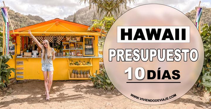 ¿Cuánto cuesta un viaje a Hawaii?