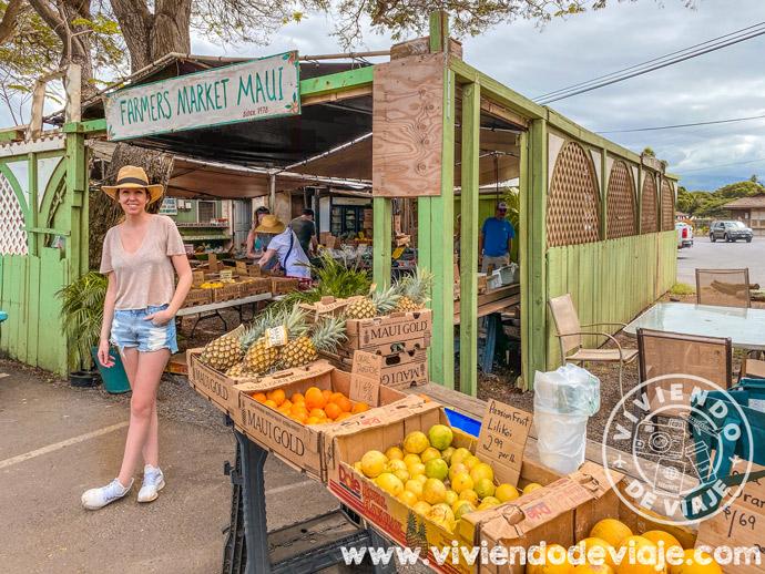 Farmers Market en Kihei, Maui
