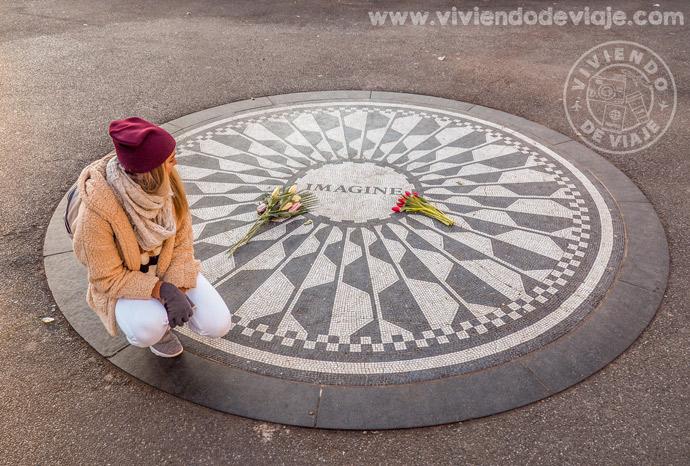 Memorial de John Lennon de Nueva York