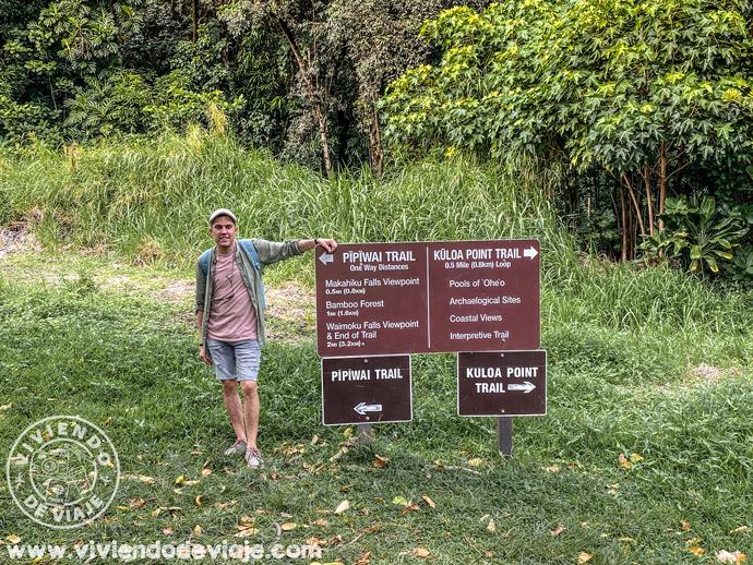 Pipiway Trail en Maui