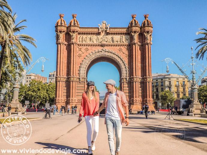 Arco del Triunfo en Barcelona, un imprescindible