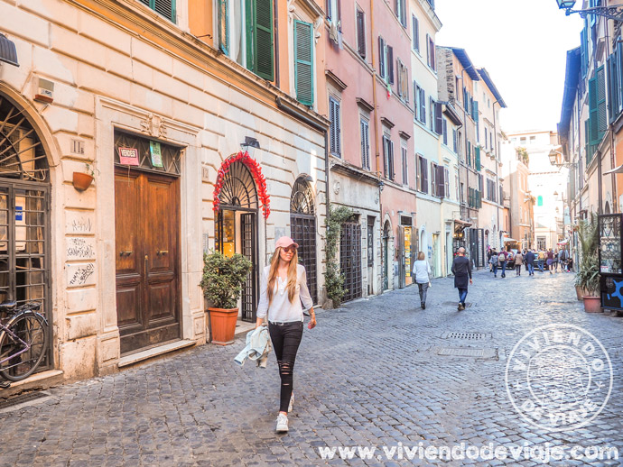 Alojarse en Trastevere, Roma