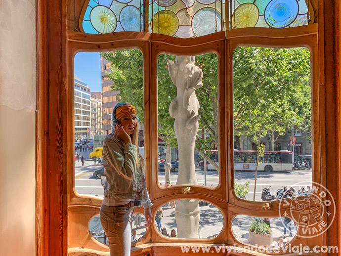 En el interior de la Casa Batlló, Barcelona