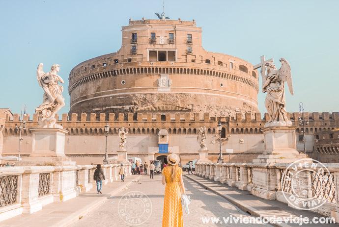 Alojarse en Roma en el barrio Prati, muy cerca del Castillo de Sant'Angelo