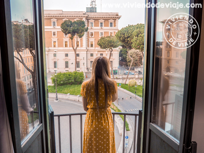 Alojamiento en Roma | Vistas desde el Hotel Viminale