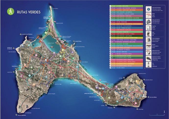 Cómo moverse por Formentera en bicicleta