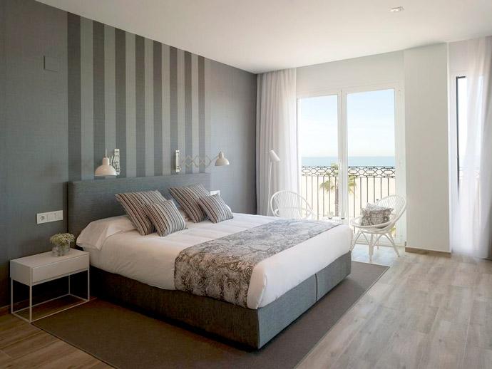 Alojamiento con encanto en la Playa de las Arenas de Valencia, Hotel Balandret