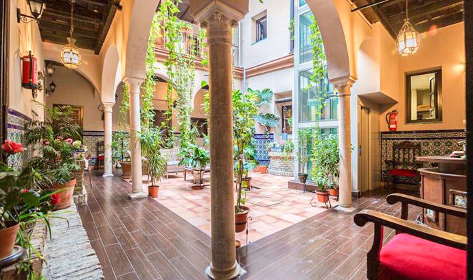 Hotel Patio de las Cruces en Sevilla