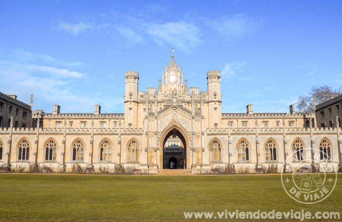 Visitar St. John's College en Cambridge