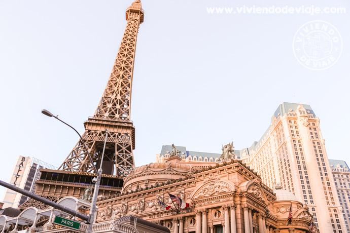 Recorrer el Strip de Las Vegas | Hotel París