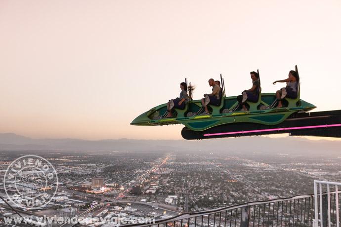 Que hacer en Las Vegas | subir a las atracciones del Hotel Stratosphere