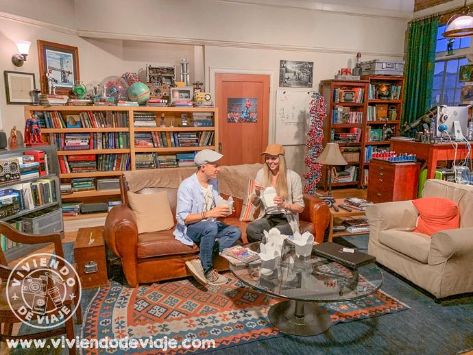 Warner Studios   Decorado de Big Bang Theory