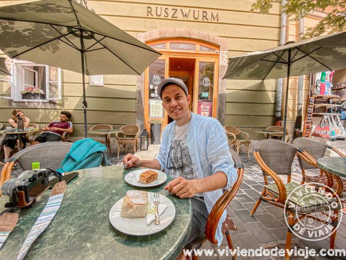 Pastelería Ruszwurm en Budapest