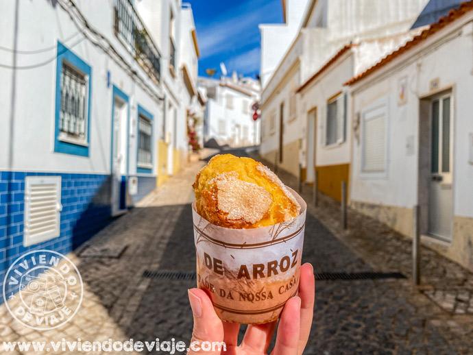 Bolo de arroz | Consejos para viajar al Algarve