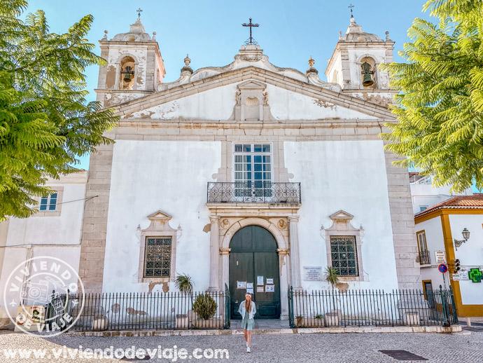 Iglesia de Santa Maria en Lagos, Portugal