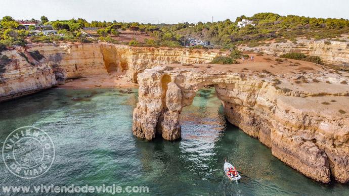 Arco de praia de Albandeira