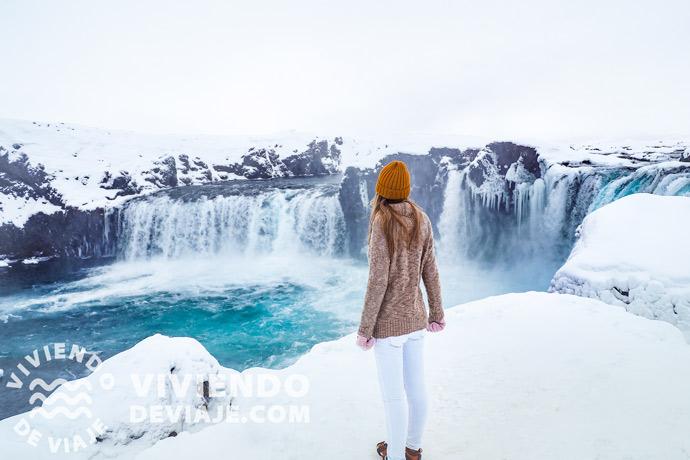 Cascadas en Islandia | Godafoss