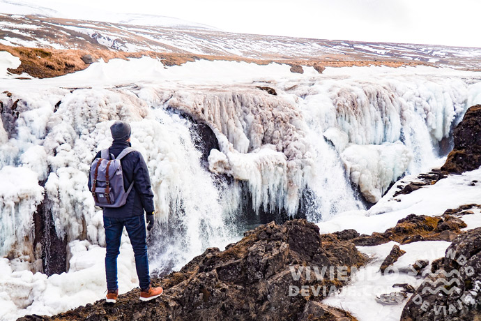 Cascada Kolugljúfur | Islandia