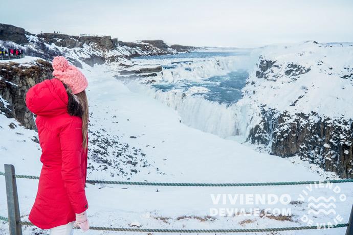 Cascadas en Islandia | Gullfoss