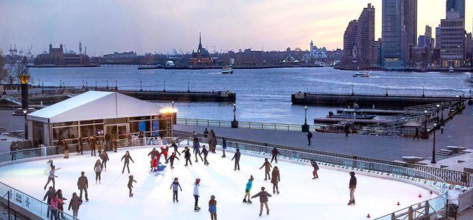 Pista de patinaje de Brookfield Place