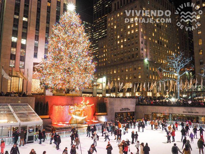 Pista de patinaje del Rockefeller Center, Nueva York