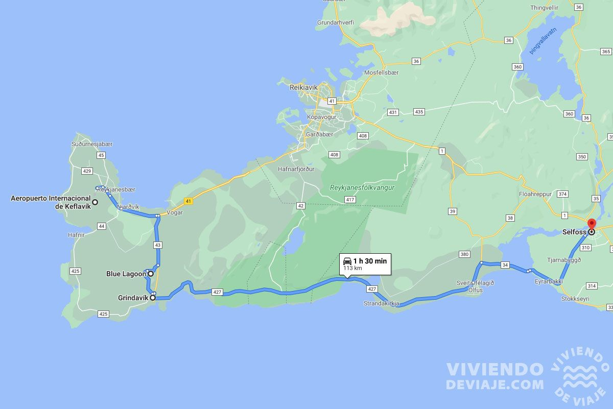 Día 1 de nuestra ruta por Islandia en 10 días